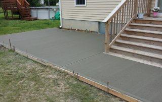 Concrete Construction Porch