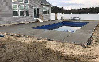 Concrete Construction Pool